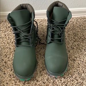 Timberland Shoes - Timberland rare special lace up combat men's boots